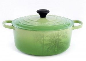 Even though you might be seeing white outside, Palm, Le Creuset's fresh new hue, is inspired by the lush of green that divides land and sea. Collection includes everything from skillets and saucepans to kettles and French ovens. $35-$402  thebay.com