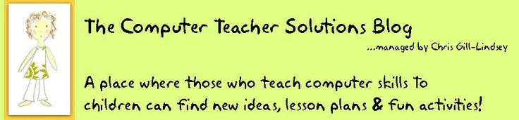 Computer Teacher Solutions Blog--A computer teacher shares ideas and products for other computer teachers to use!