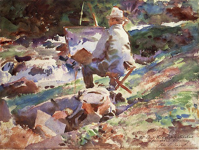 To Honor Old Masters Watercolors By John Singer Sargent Steemit In 2021 John Singer Sargent Artist John Singer Sargent Watercolors