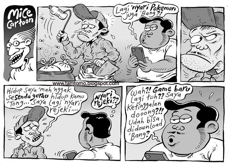 Mice Cartoon - Kompas Minggu Edisi 24 Juli 2016: Game Baru