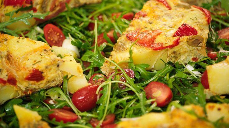 Aardappeltortilla met artisjokken   Dagelijkse kost
