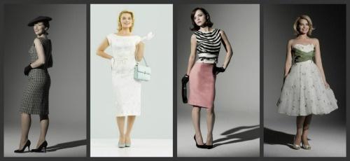 Elenco de Pan Am: Karine Vanasse, Kelli Garner,  Christina Ricci e Margot Robbie