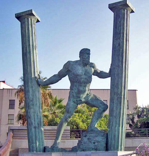 Las columnas de Hércules #Historia