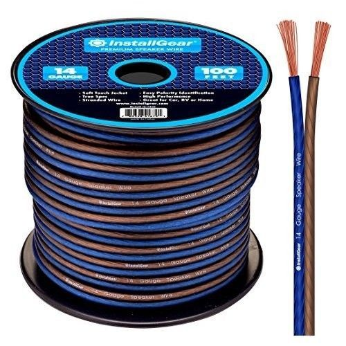 14 Gauge Speaker Wire Home Car Audio Soft Touch True Spec Stranded Cable 100ft #SpeakerWires