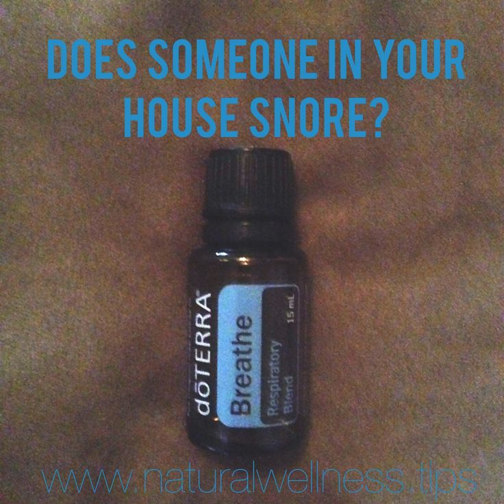 What a life saver this oil has been! If anyone in your house snores you have to check this out!!! Who new doTERRA essential oils could help with snoring :)