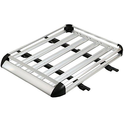 "Go2buy 50"" Silver Aluminum Roof Rack Basket Car Top Cargo Baggage Carrier Storage (Cross Bars Are Included) - http://www.caraccessoriesonlinemarket.com/go2buy-50-silver-aluminum-roof-rack-basket-car-top-cargo-baggage-carrier-storage-cross-bars-are-included/  #Aluminum, #Baggage, #Bars, #Basket, #Cargo, #Carrier, #Cross, #Go2Buy, #Included, #Rack, #Roof, #Silver, #Storage #Cargo-Carriers, #Fall-Winter-Driving"