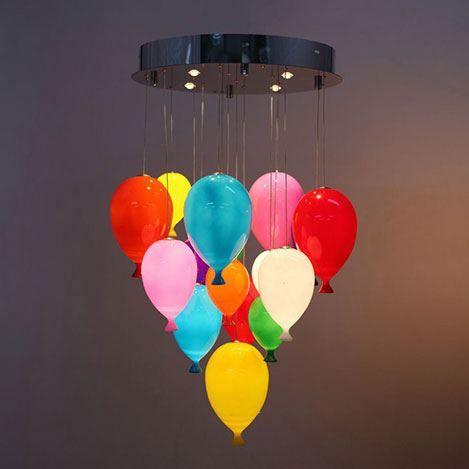 1.030,00tl Lumexx 16'lı Ledli Balon Avize - Renkli