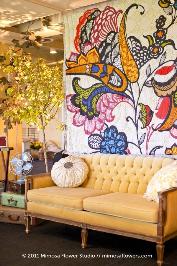 the gorgeous couch that inspired it all