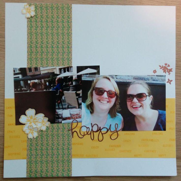 Scrapbook met koper - Het Knutsellab - Stampin Up #stampinup #crafts #knutselen #stempelen