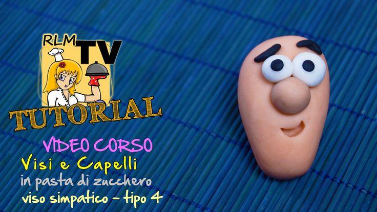 #VIDEO #CORSO: #Visi e #capelli in #pdz - Viso simpatico - tipo 4