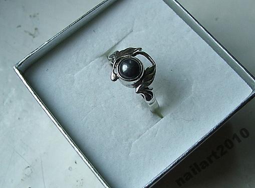 Warmet stary srebrny srebro hematyt antyk