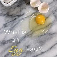 Curious about how an egg fast can help you lose weight? Learn how to break a weight loss plateau using the lchf egg fast! Keto & Atkins diet friendly.
