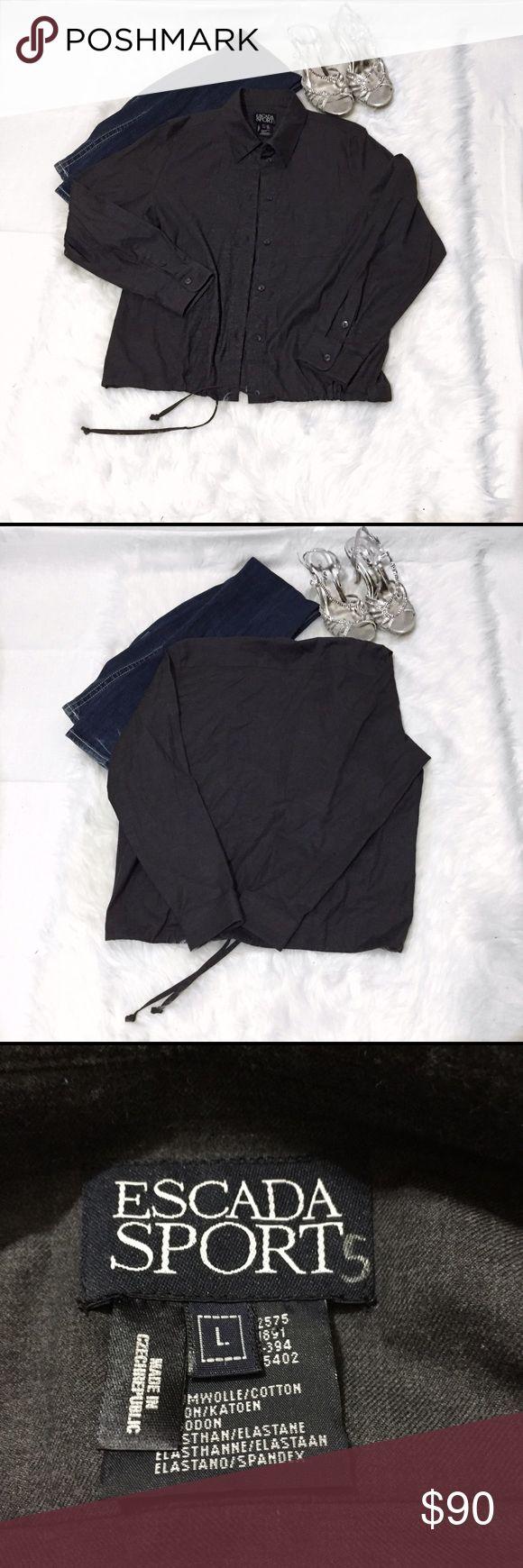 ‼ Escada Sport Light Jacket ‼ Excellent condition. No signs of wear. 96% cotton, 4% spandex. Escada Sport Jackets & Coats