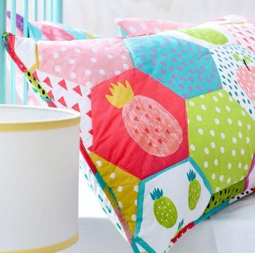 Adairs Kids Fruit Salad Quilt Cover Set, kids quilt covers, kids doona covers