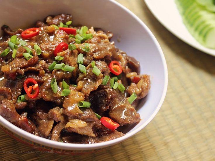 Here's a variation on the Vietnamese classic recipe thịt kho or braised caramel pork, namingly thịt kho tiêu or braised caramel pork with pepper. Enjoy!