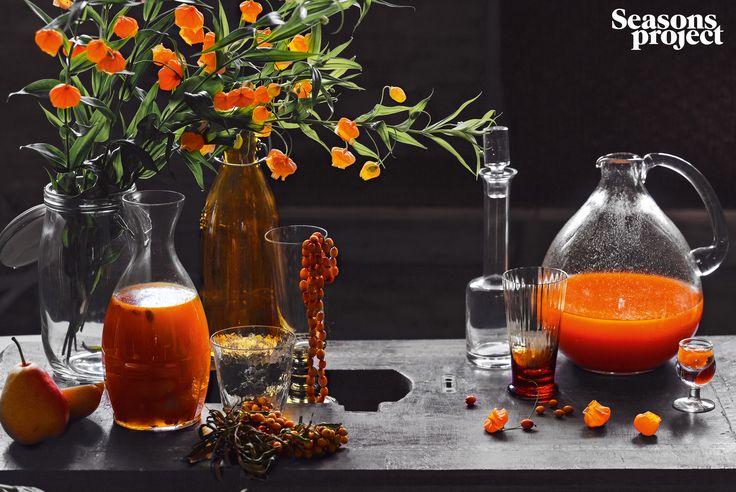 Seasons of life №17/ September-October 2013 issue #seasonsproject #seasons #sea #buckthorns #floristics #seasonsoflife #orange