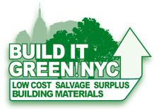Build It Green salvages from reno's across the Tri-Boro NYC area and is a great place to score home renovation items.