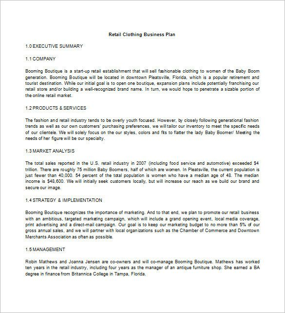 Pin On Simple Business Plan Template For Entrepreneurs