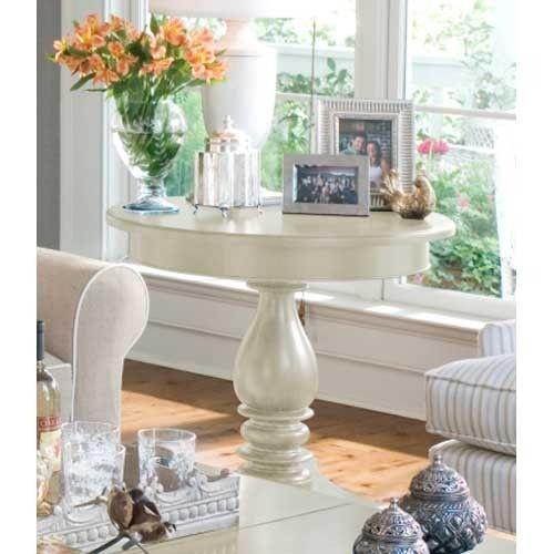 Paula Deen Linen Round Side Table UF 996817