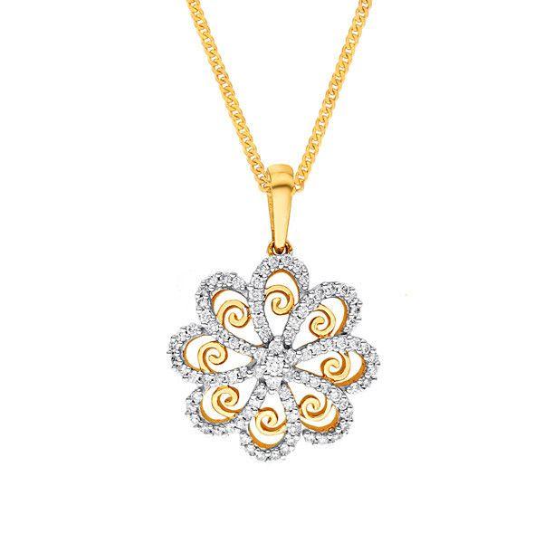 Katrina's Favourite - Nakshatra Diamond Pendant NPA572SI-GH-K
