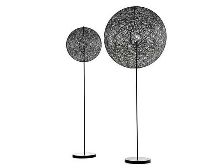 LED glass-fibre floor lamp RANDOM LIGHT LED FLOOR LAMP by Moooi© design Bertjan Pot