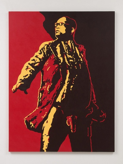 "Brett Murray's ""The Spear"" portrays President Jacob Zuma exposed."