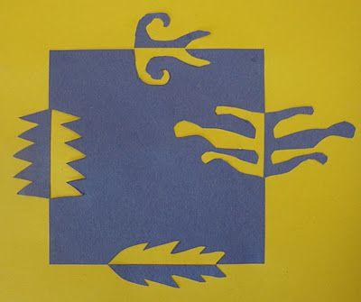 Art. Paper. Scissors. Glue!: Notan Designs