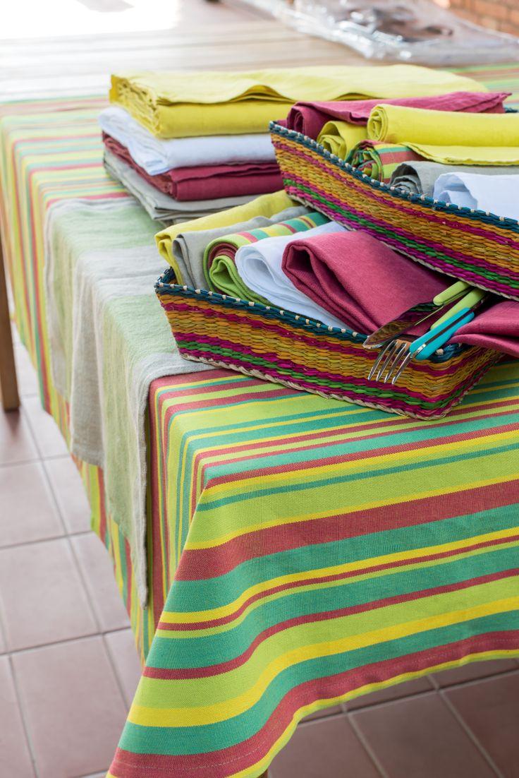 Pfister Tablecloth Tropical, Tray Tao, Decoration, Outdoor Ideas, Garden, Terrace