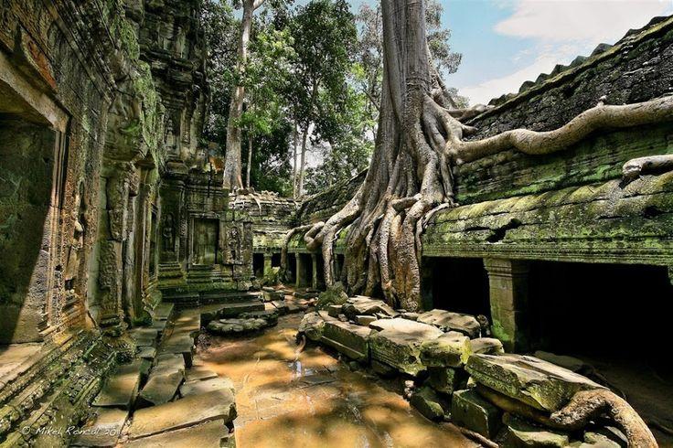 Google+Ангкор-Ват в Камбодже