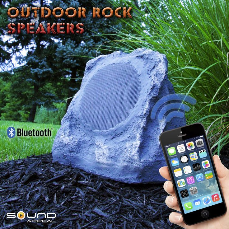 Bluetooth Rock Speakers For Back Yard Or Patio By Sound Appeal. See  Detailsu003eu003e