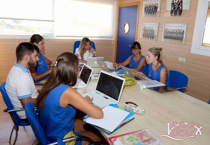 #ProfesoresISP reunidos en la planificación de objetivos. #TeamISP