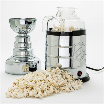 Stanley Cup Popcorn Maker! What hockey fan wouldn't want this?