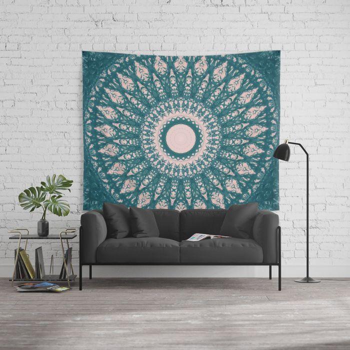 MANDALA NO. 33 #society6 Wall Tapestry #mandala #design #bohemian #bohochic #boho #sboar #Hindu #sacred #universe #trends #moroccan