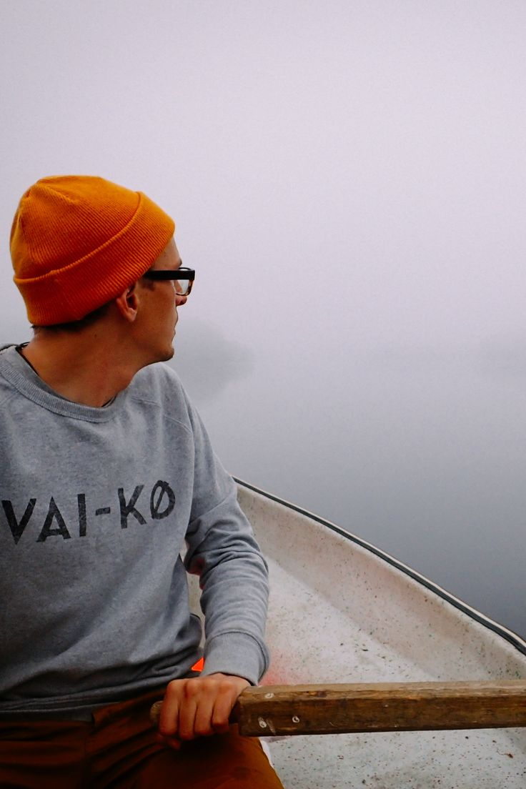 Flyfishing Photography. Simple Living, eco friendly fashion. Flyfisher Beanie for Menby VAI-KØ.