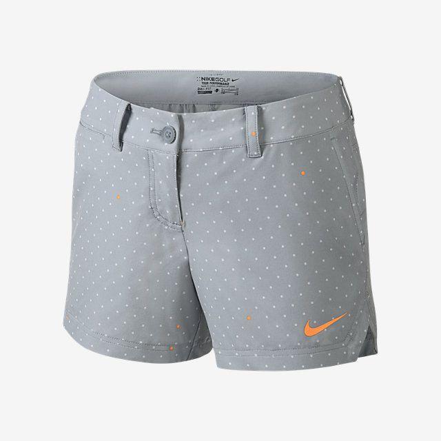 Nike Greens Print Shorty Womens Golf Shorts. Nike Store