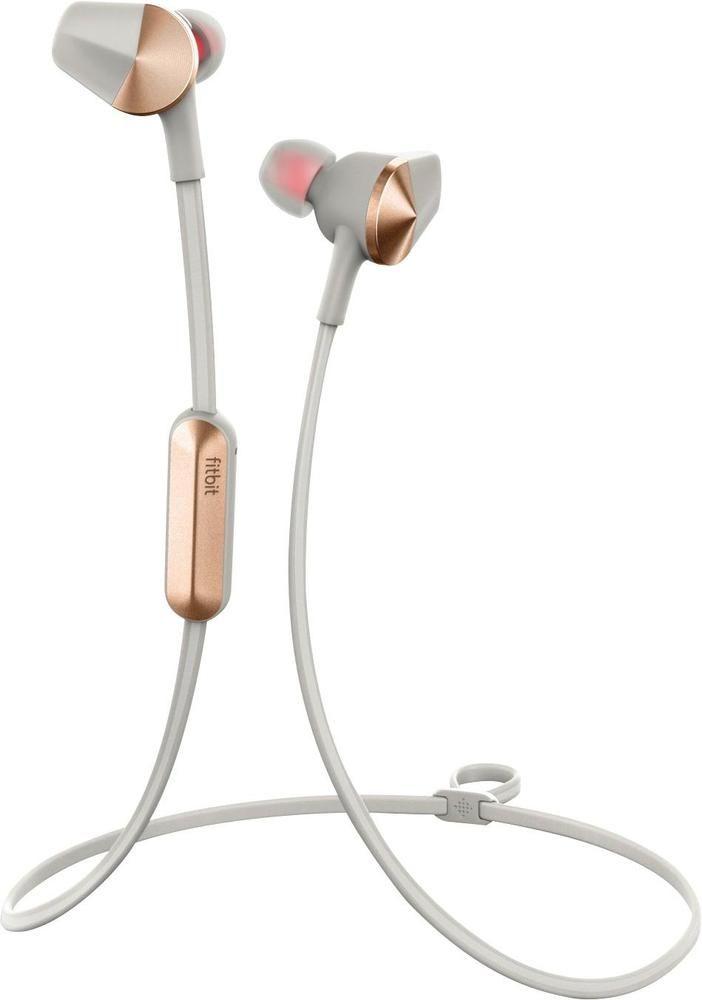 Fitbit - Flyer Wireless In-Ear Headphones - Lunar Grey