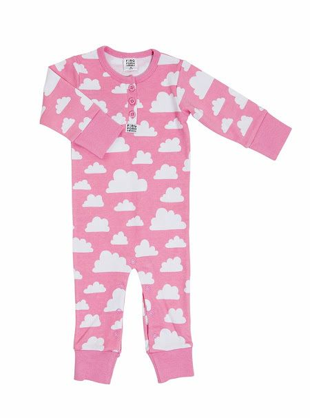 Färg&Form - pyjama roze wolken