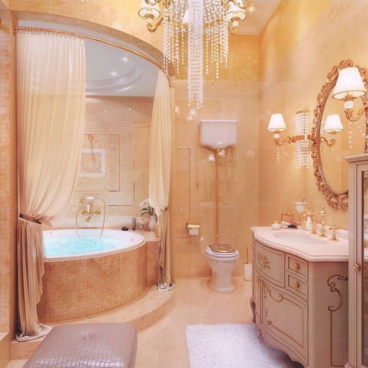 The Bathroom Is Grossly Gaudy, But That Bathtub! Part 34