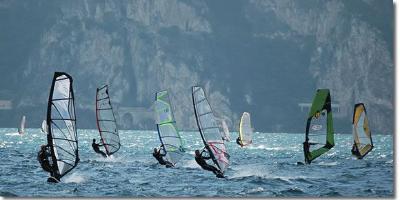lake garda torbole windsurfing camping - Google Search