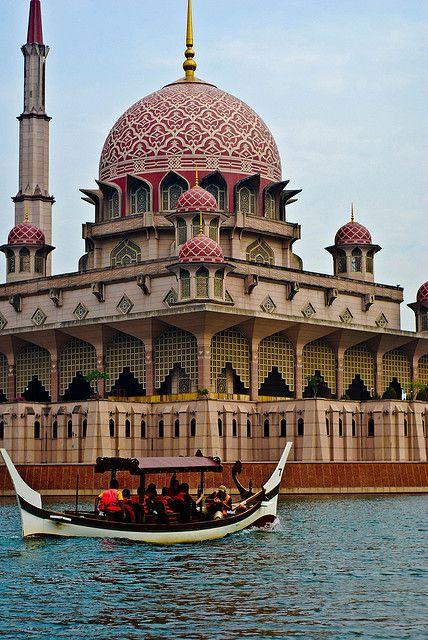 Putrajaya Mosque, Malaysia
