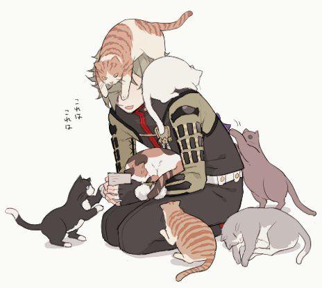 【刀剣乱舞】鳥太刀と猫 : とうらぶnews【刀剣乱舞まとめ】