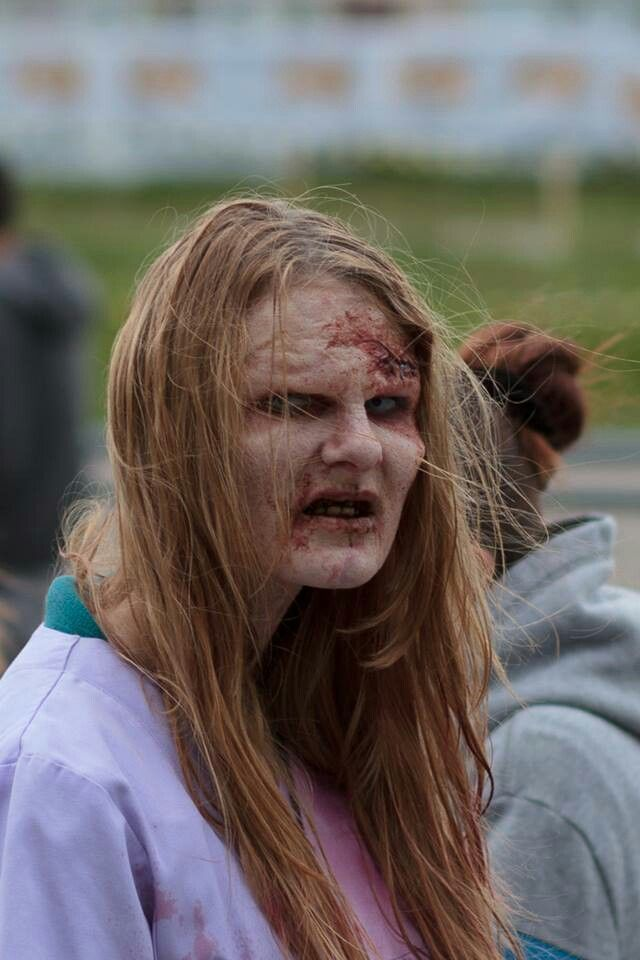 zombie prosthetic make up
