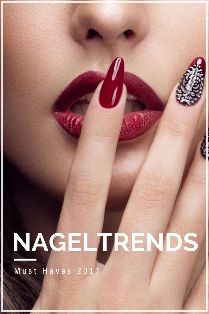 Nageltrends 2017 – Holt euch alle Infos rund um Nagellack Trends für dieses Jahr!