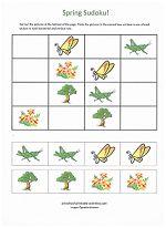 Easy Beginning Sudoku Puzzles for Kids! www.preschool-printable-activities.com