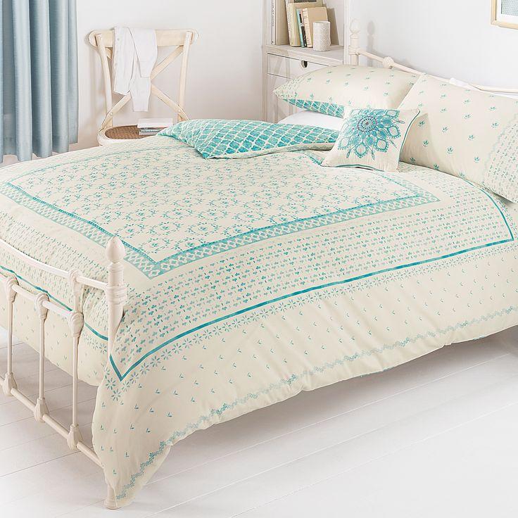 George Home Harmony Tile Duvet Set | Duvet Covers | ASDA direct