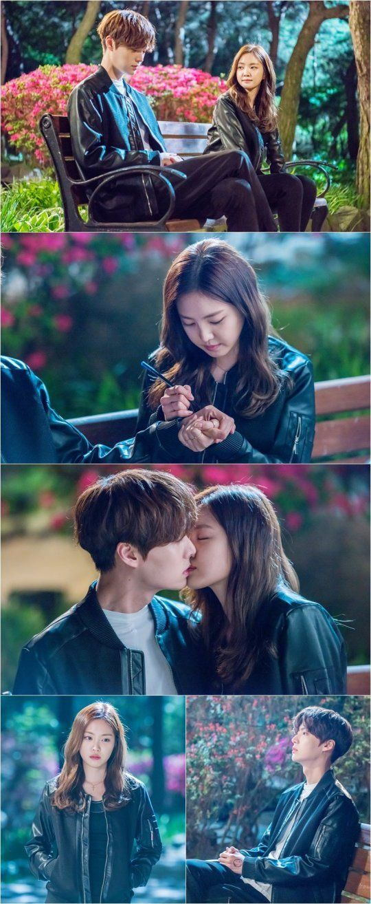 Ahn Jae Hyun and Na-Eun lock lips in still cuts from 'Cinderella and Four Knights'