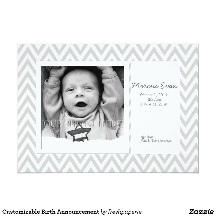 28 best Baby Birth Announcements images on Pinterest | Baby photos ...