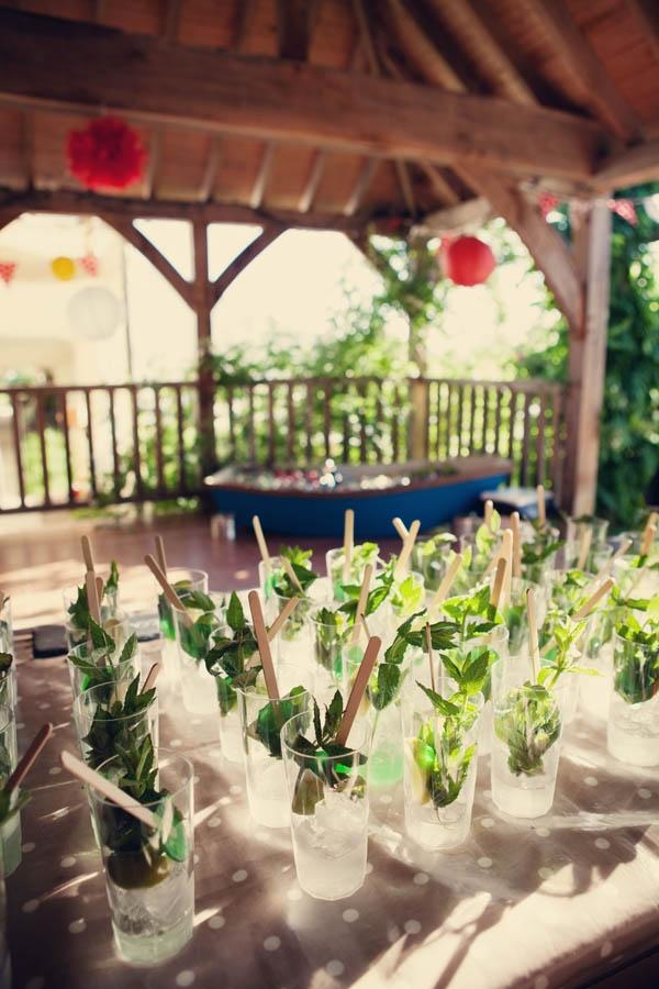 A Backyard Pool Party Wedding: Kate & Doug