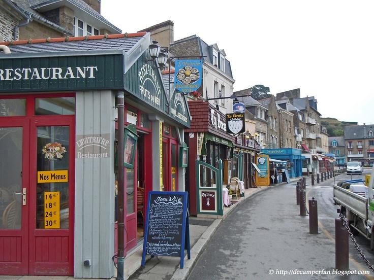 """Cancale"" Bretagne Frankrijk."