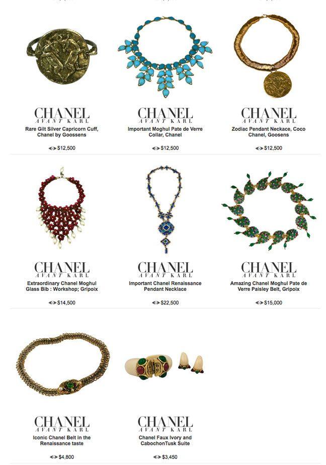 rare period chanel costume jewelry 1stdibs